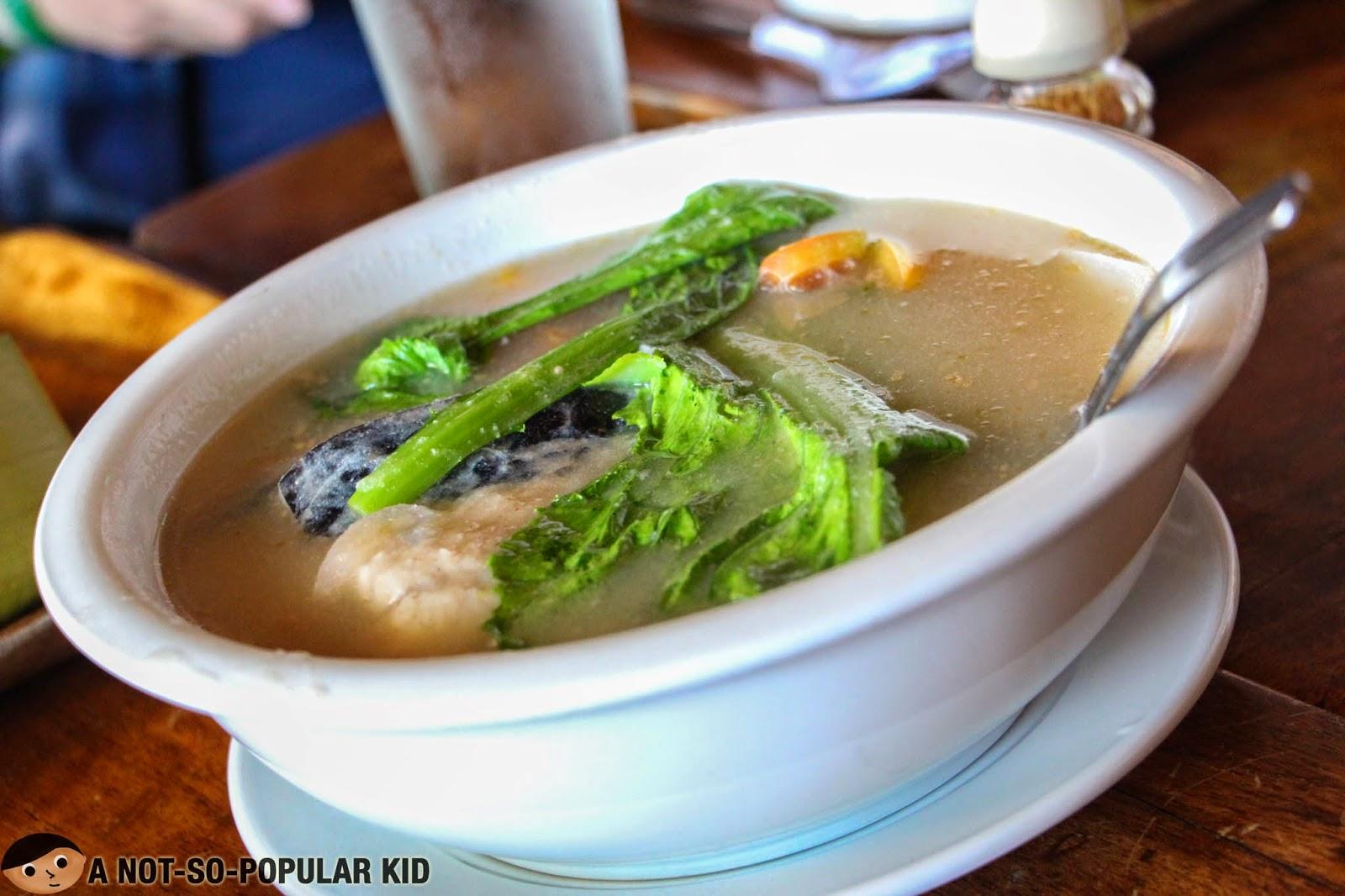 Sinigang na Bangus sa Miso in RSM Restaurant (Tagaytay)