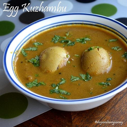 egg kulambu , egg gravy