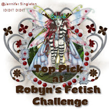 Proud top 3 at Robyn's Fetish Challenge Blog