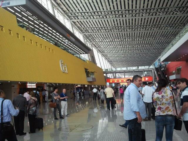 Targi w Kantonie - hata targowa