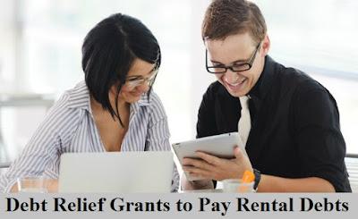 debt relief grants to pay rental debts