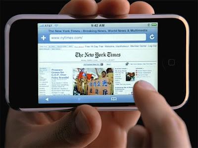como ativar blog no celular