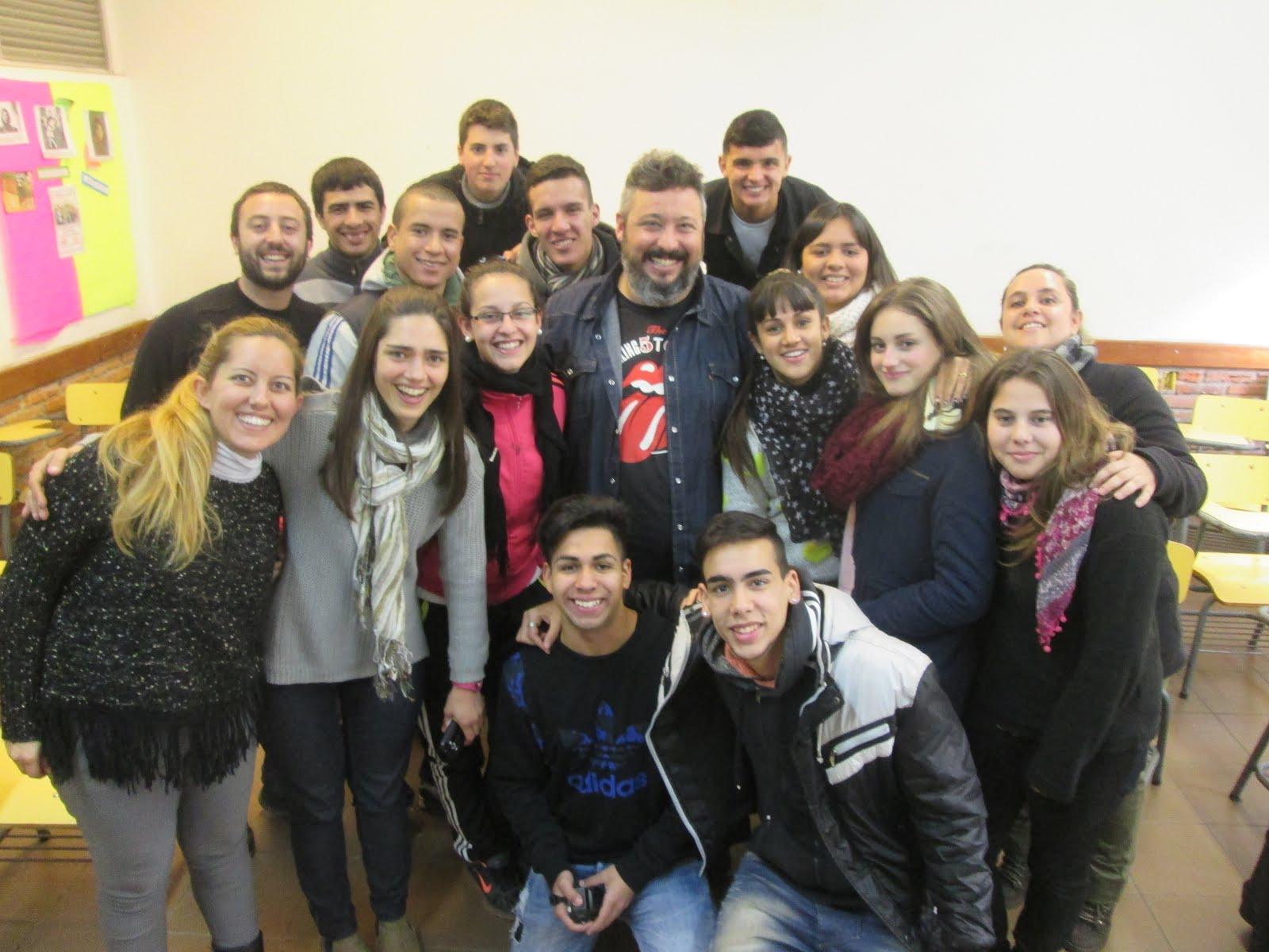 Visita de Diego González (Comunicador)