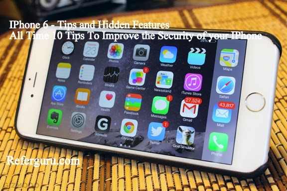 Ipone 6 Security Tips