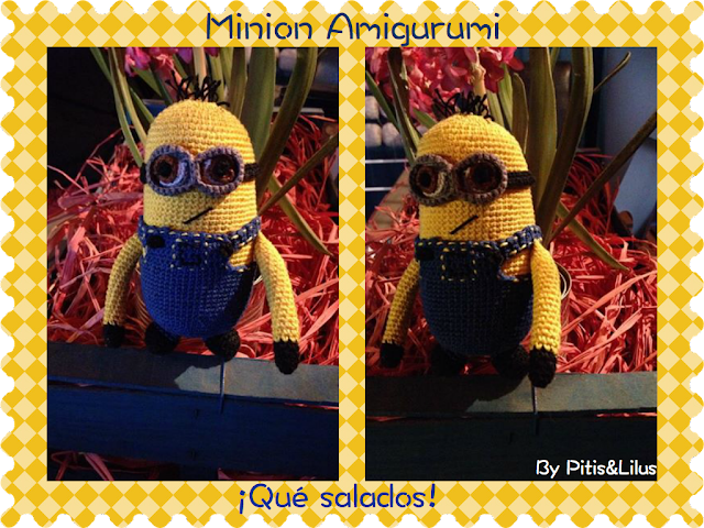 Muñeco Minion Amigurumi Doll