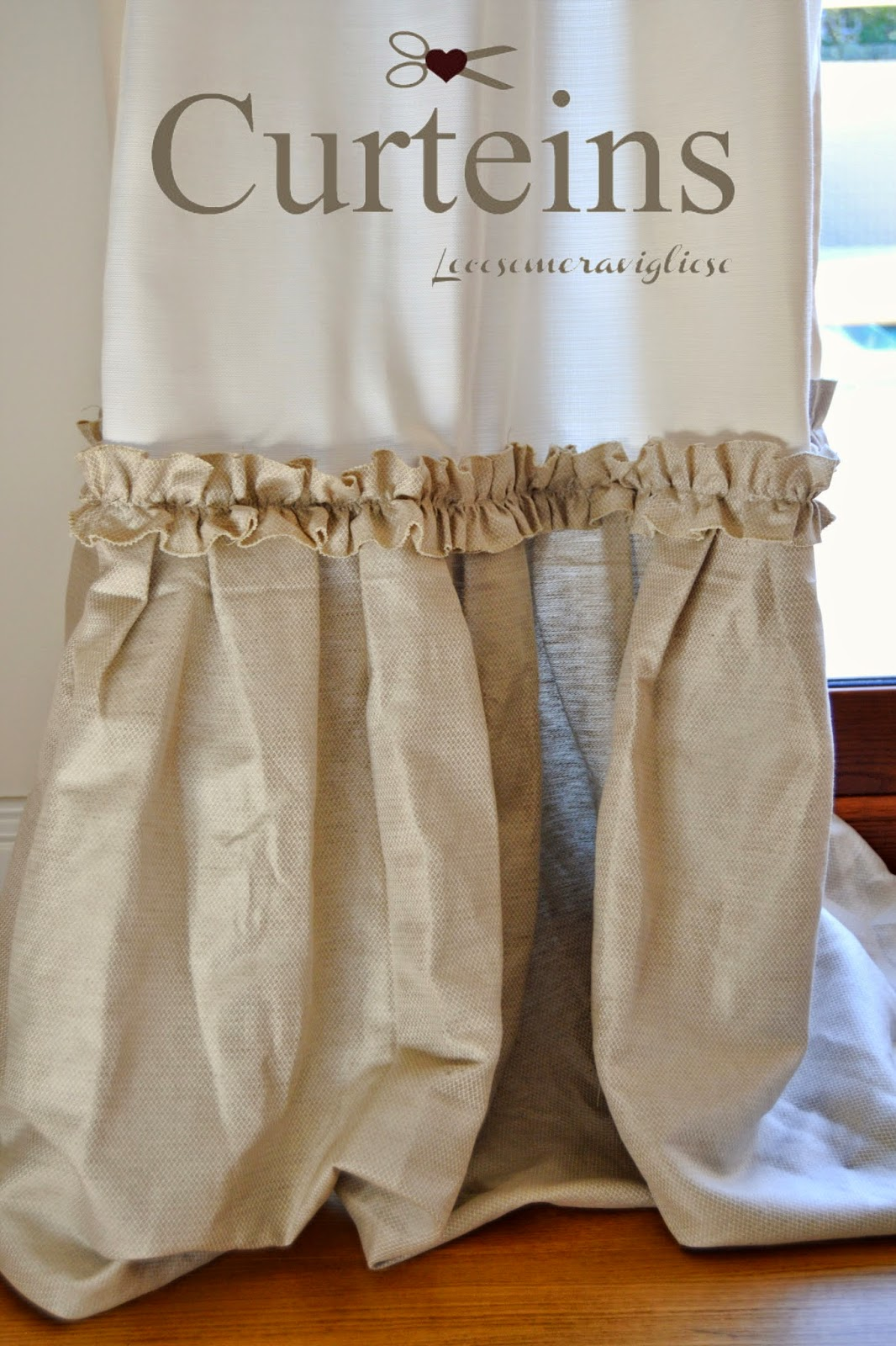 Lecosemeravigliose shabby e country chic passions tende for Tende shabby chic on line