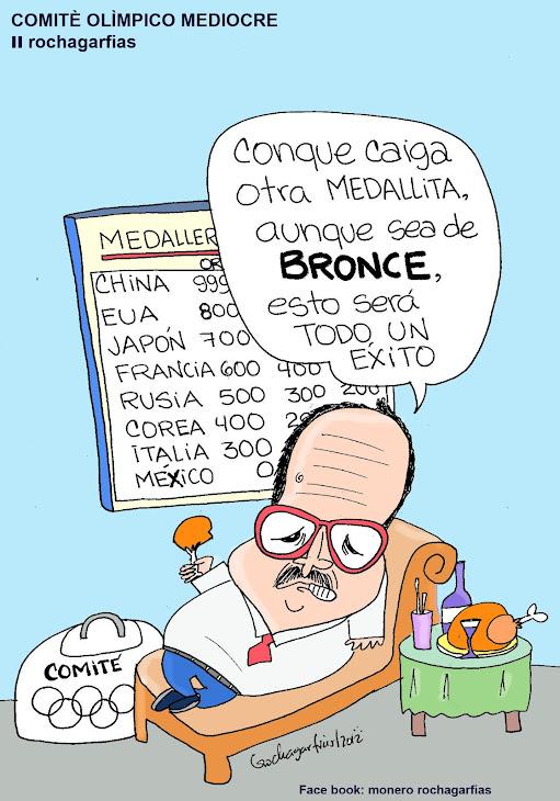 Mediocridad olímpica mexicana.
