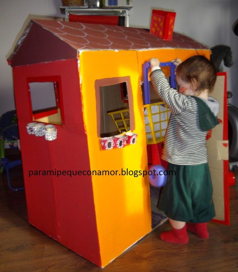 C mo hacer una casita para ni os construccion y - Como hacer una casa de madera para ninos ...