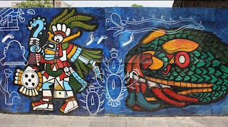 Parte 6 del mural en México DF