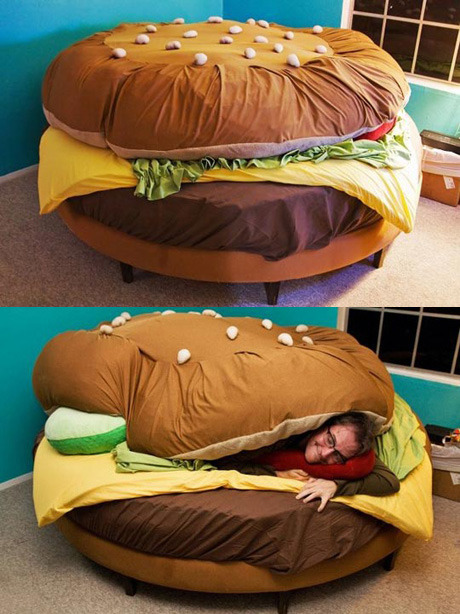 I found unique and cute beds on the internet.