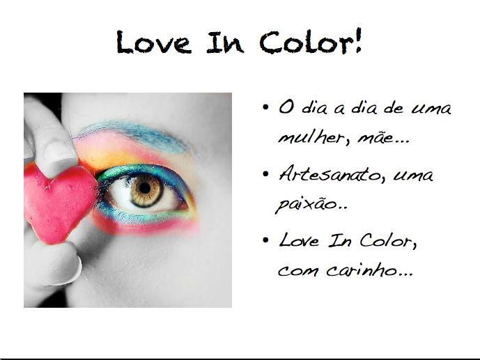 Love in color !
