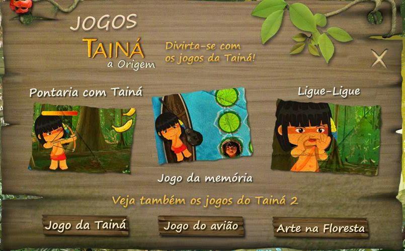 http://www.taina3.com.br/#/Jogos