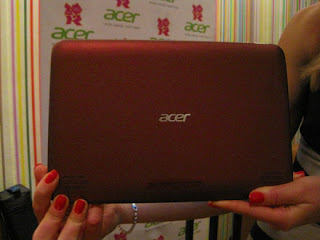 Red Acer Iconia Tab A200 Tablet