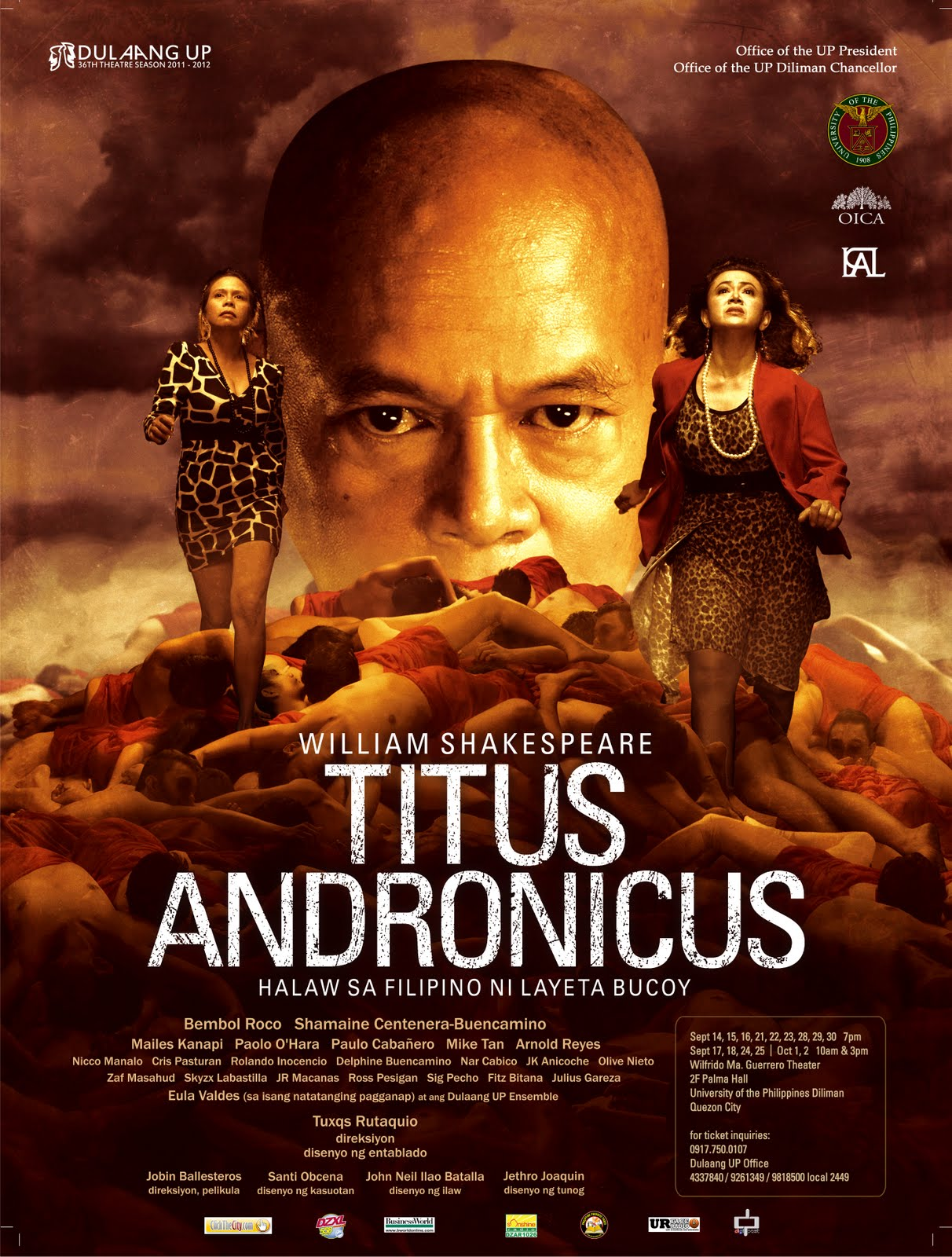 gibbs cadiz dulaang up s filipino titus andronicus opens sept  dulaang up s filipino titus andronicus opens sept 14