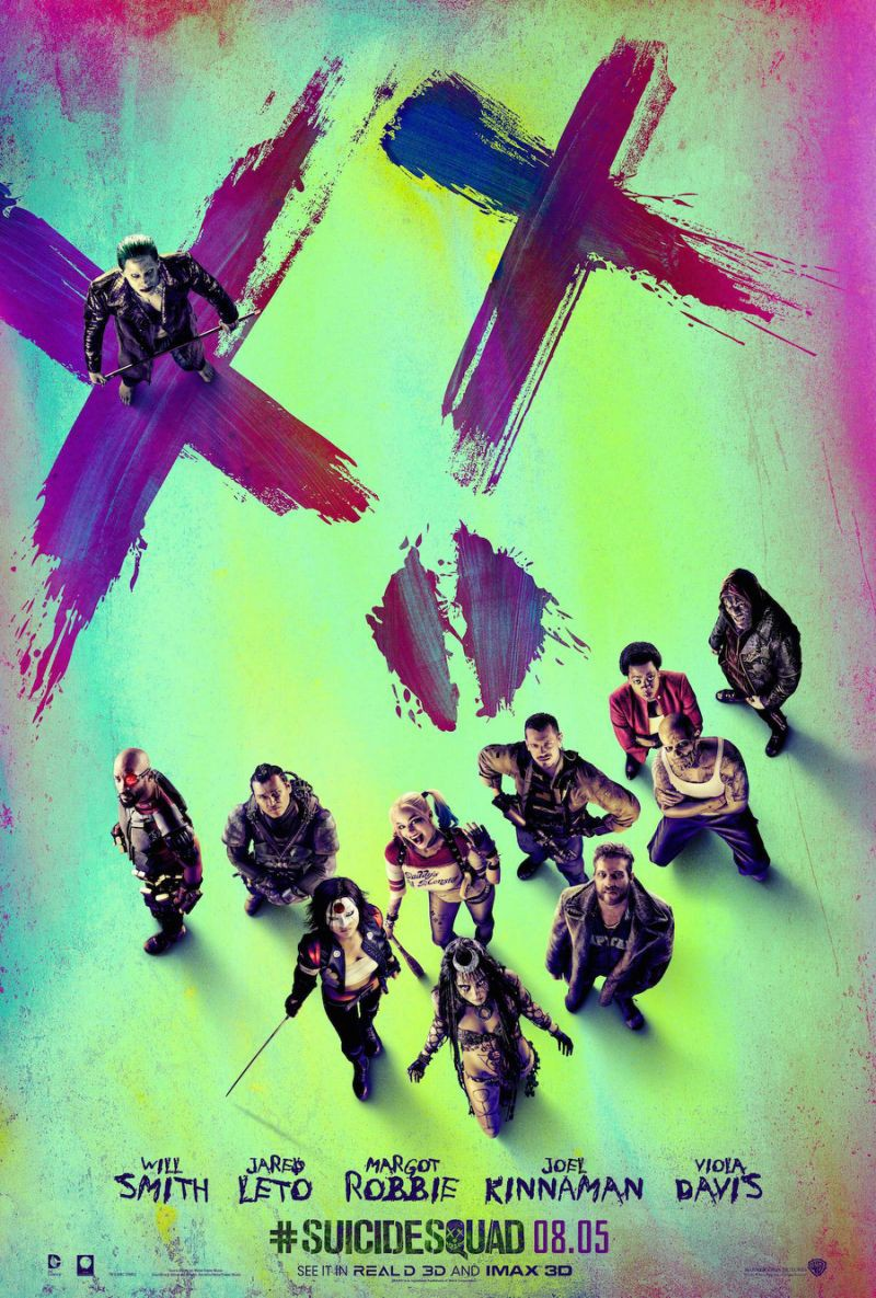 New SUICIDE SQUAD International Trailer and 10 Posters ...
