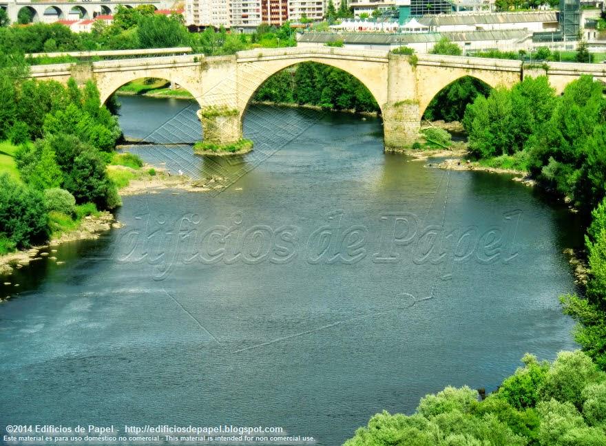 El Puente Romano de Ourense - Edificios de Papel