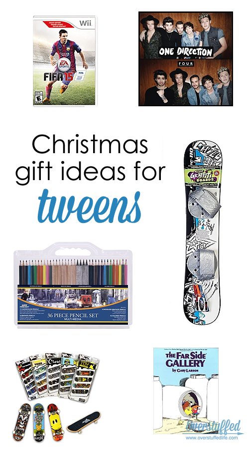 Christmas Gift Ideas for Tweens