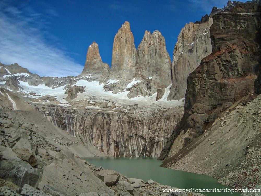 Final da trilha Torres del Paine