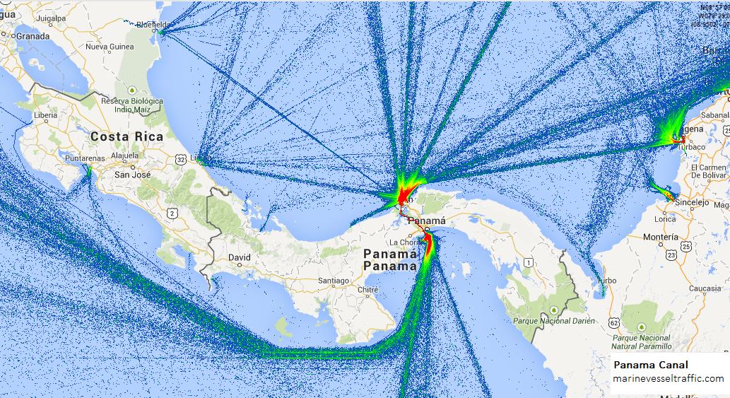PANAMA CANAL SHIP TRAFFIC | Ship Traffic
