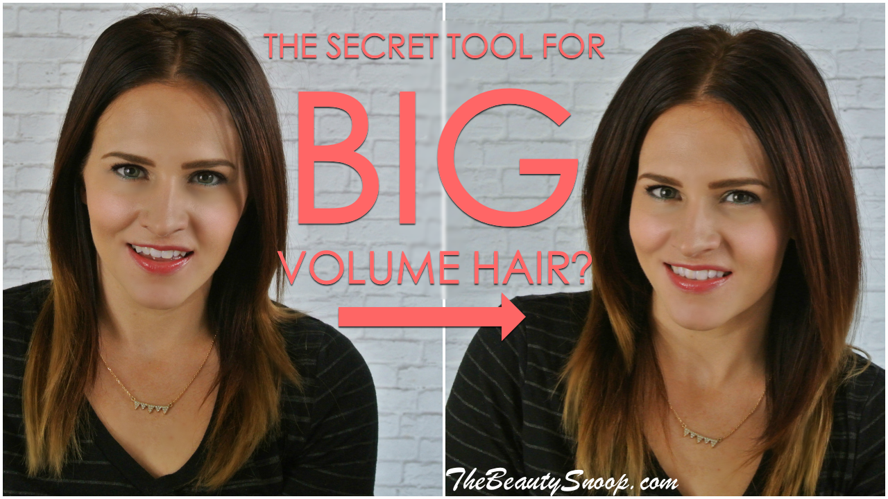 #voloom, @voloom, volume and texture iron that lifts roofts from within and gives major volume and density to hair for days. Voloom Iron Review