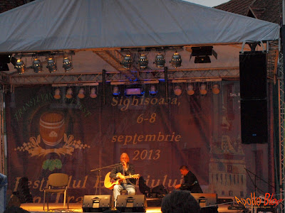 Ducu Berti la Festivalul Hameiului