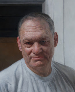 "Portrait Of My Father, Steven I. Kassan"" 32"" x 25"" / oil on panel  /  2010"