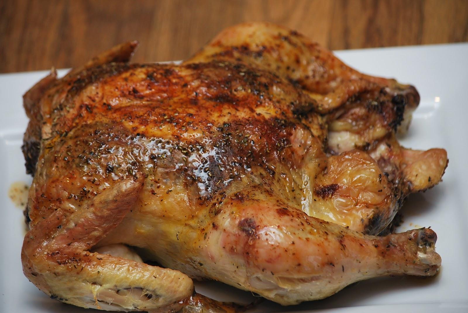 herb roasted chicken 1 whole chicken 1 2 tsp salt