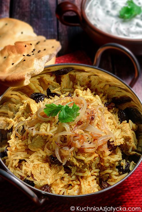 Biryani z kurczakiem © KuchniaAzjatycka.com