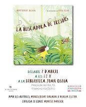 """""""La buscadora de tresors"""". Amb de les autores, Montserrat Balada i Núria Feijoo"""