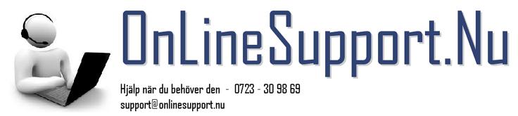 OnLineSupport.Nu Bloggar