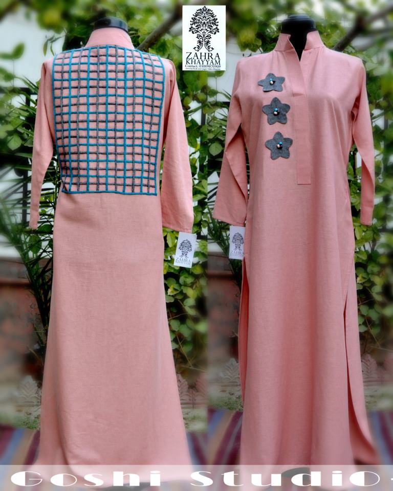 Innovative Pink Kurta Trouser For Girls Dress Design