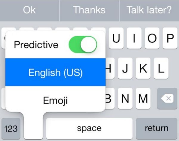 There is now an existing new toggle in keyboard settings that lets you to either turn predictive text on or off.