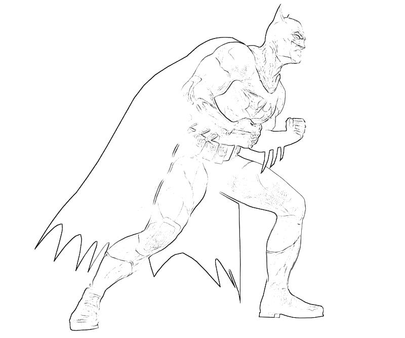 Printable Batman Arkham City Batman Character Coloring Pages title=
