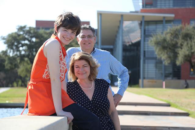 Family photo at Trinity