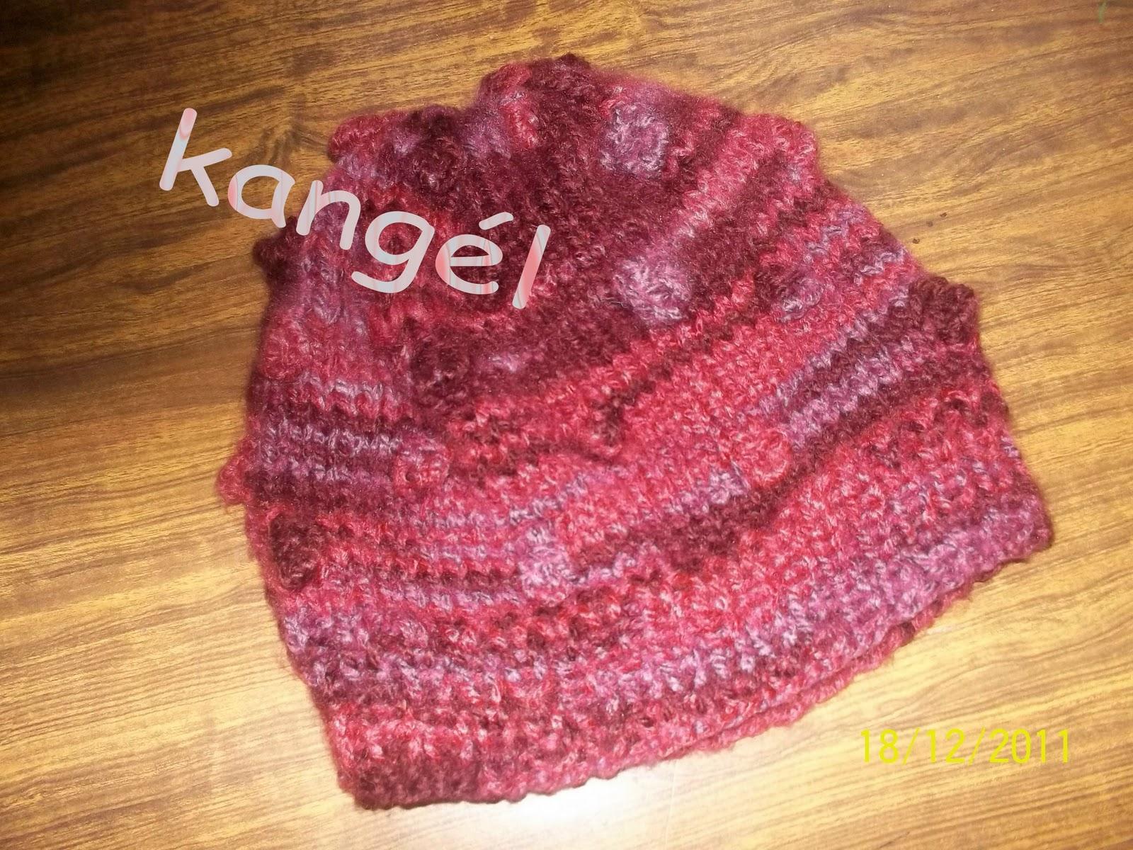 Tejidos Kangél: gorra con punto nueces