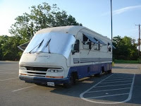 Reflectix cover for motor home windshield