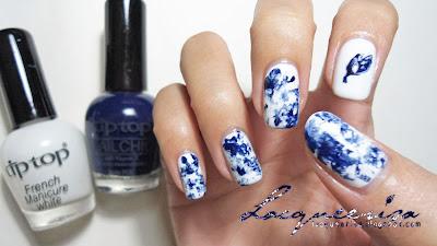 Lacqueerisa: Porcelain Nails