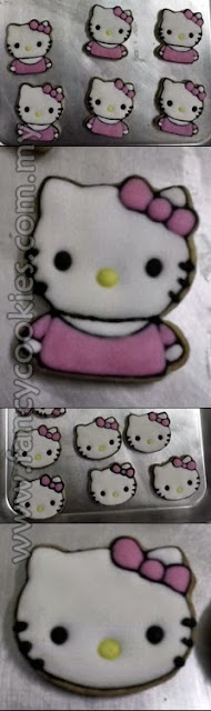 fancy cookies hello kitty small size