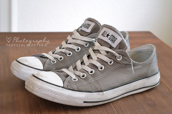 Converse Chucks low grau