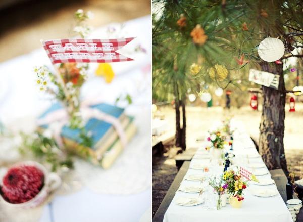 Bodas vintage campestre for Decoracion boda campestre