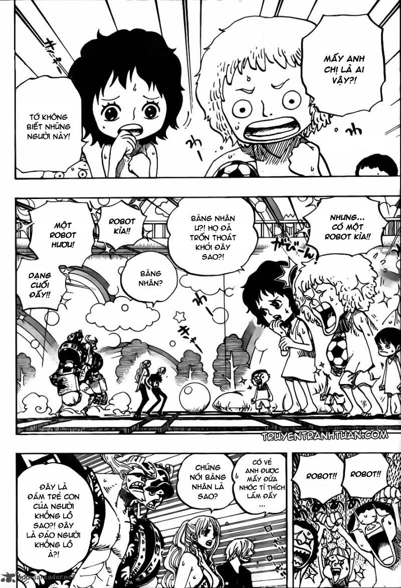 One Piece Chap 658 - truyen One Piece online