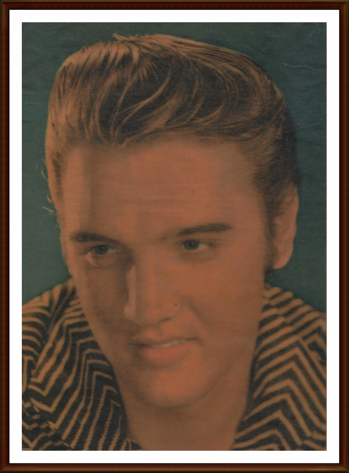 A young Elvis Presley