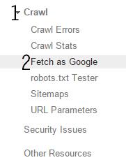 Cara Cepat Terindex Google dengan Webmaster Tools