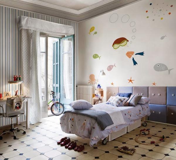 Papel pintado - Decorar dormitorio con papel pintado ...