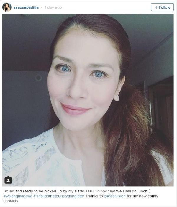 Zsazsa Padilla slays bashers by posting humorous photo on Instagram