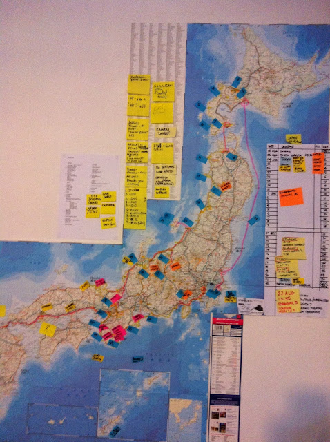 Japan route, Rich and Co Honey Moon