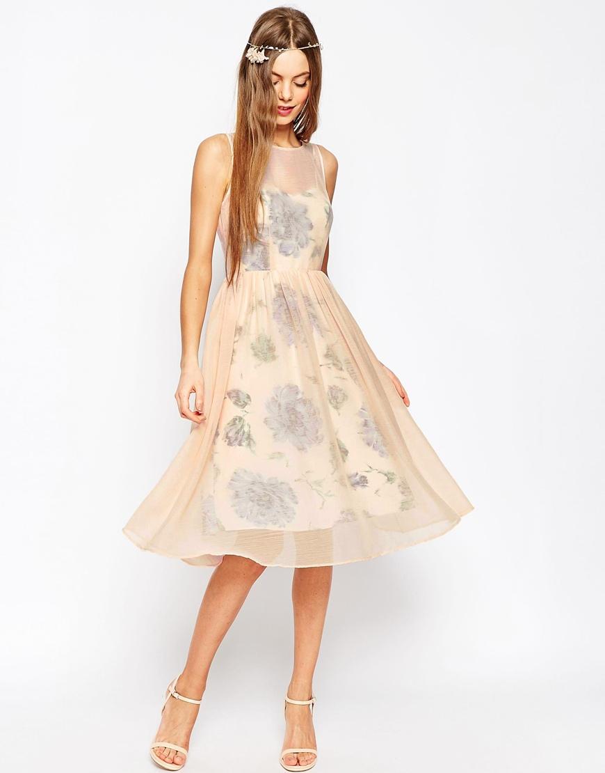 vestido midi matrimonio