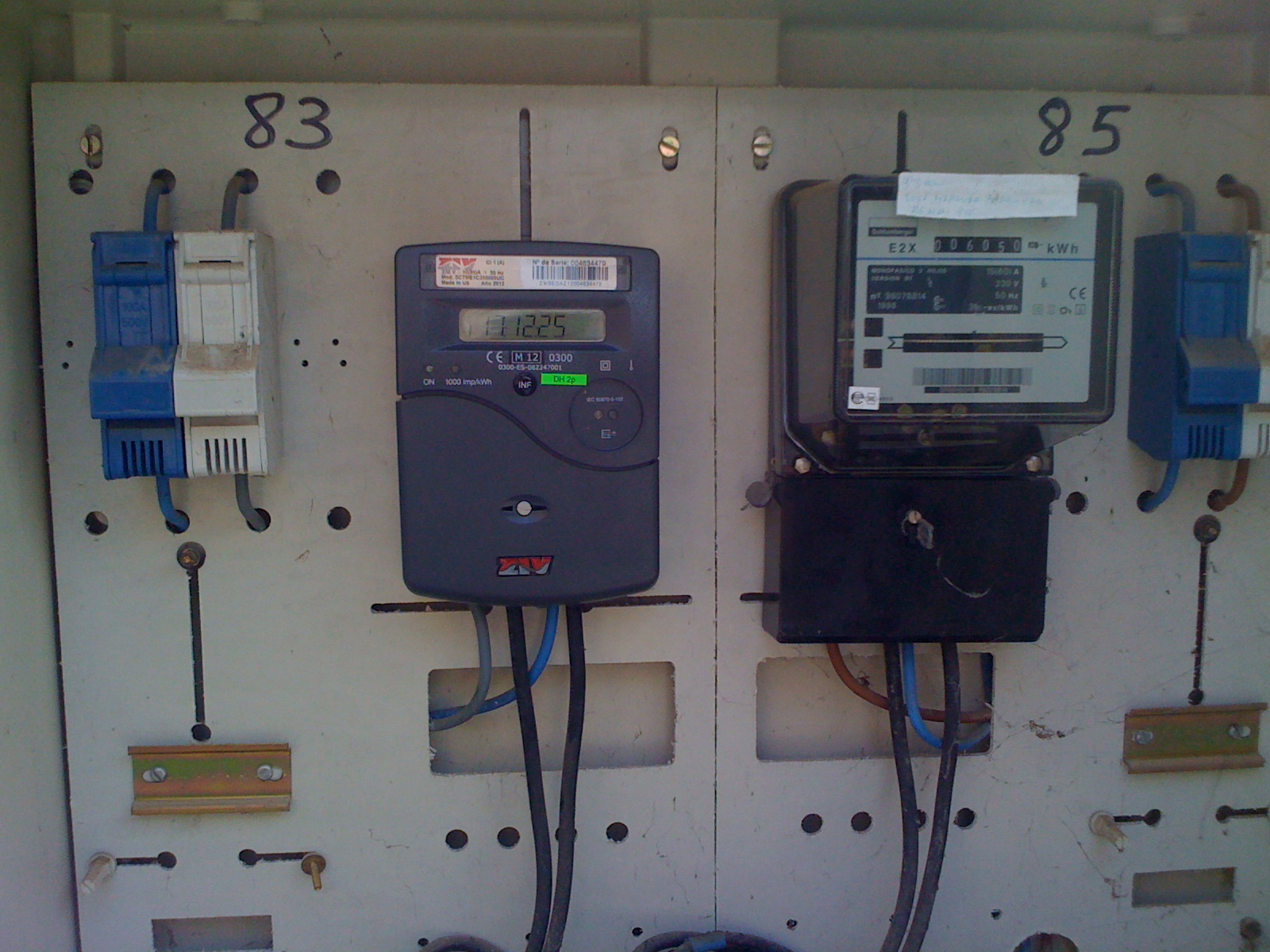 Increasing Electricity Meter : Sparks in spain how to upgrade an electricity supply