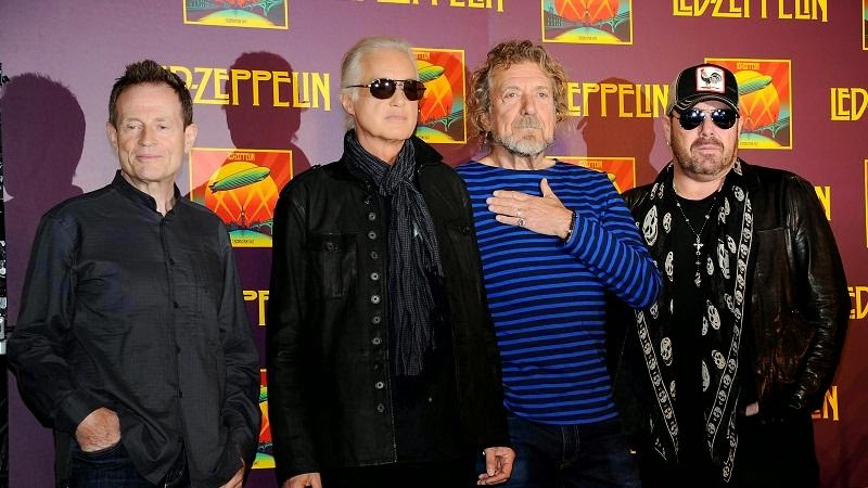 led zeppelin - reunion - 2007