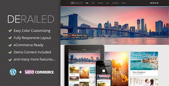 Responsive Photography and Portfolio Theme